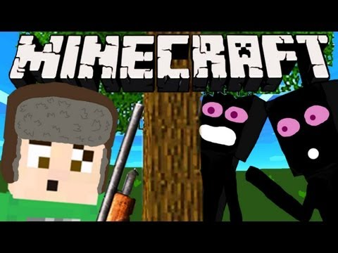 Minecraft ENDERMAN HUNT