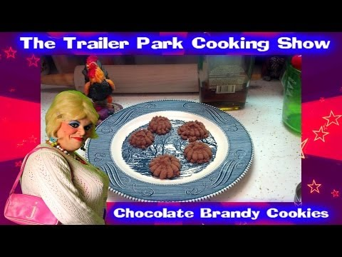 Chocolate Brandy Cookies : Trailer Park Test Kitchen