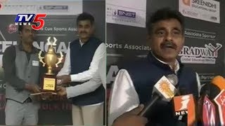 Hyderabad Player Lucky Vatnani Wins Telangana Open Snooker Championship Title | TV5 News - TV5NEWSCHANNEL