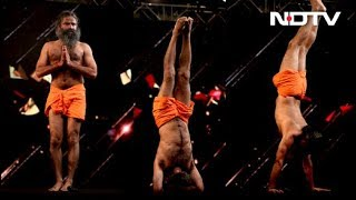 Watch: Yoga With Baba Ramdev At #NDTVYuva - NDTV