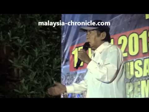 Najib is shaking, he's very scared - Chen Man Hin at Seremban rally