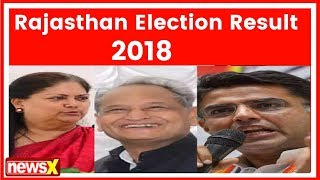 Assembly Election Results 2018: Ashok Gehlot leading with 2278 votes |Rajasthan Election Result 2018 - NEWSXLIVE