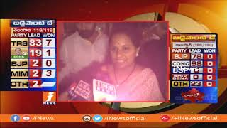 Telganana People Don't Believe Mahakutami False Promises | MP Kavitha On TRS Grand Victory | iNews - INEWS