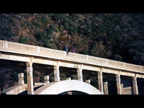 Bixby Creek Bridge BASE Jump - Aerial Extreme