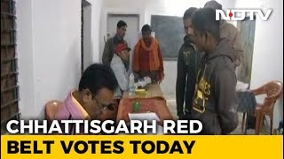 Voting In Chhattisgarh's Maoist-Hit Belt As BJP Eyes 4th Term - NDTV