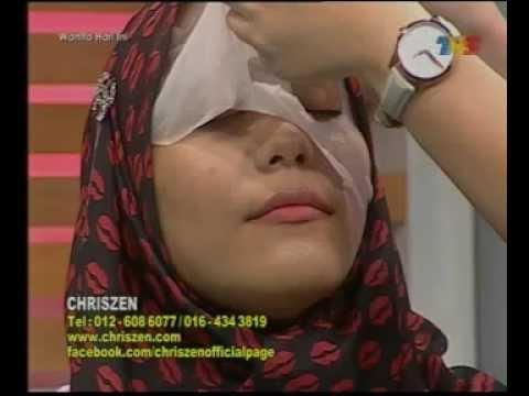 Wanita Hari Ini 24/11/2014 Chriszen Tube Mask Demo