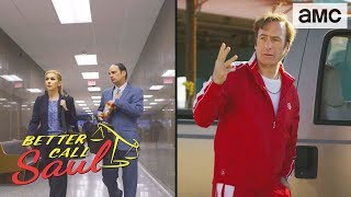 'Jimmy as Saul Goodman' Breaking Bad Easter Eggs Ep. 407 | Better Call Saul - AMC