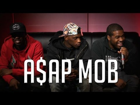 A$AP Mob - A$AP Mob Appear On Hot 97 Morning Show