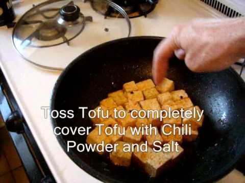 Basic Chinese Fried Tofu Recipe