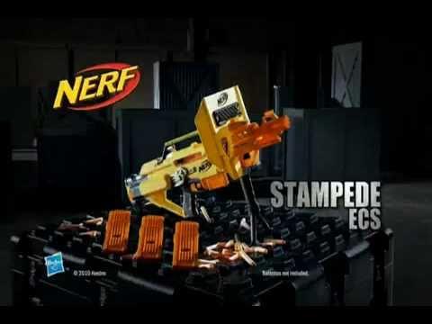 NERF N-Strike Stampede ECS-60 Werbespot