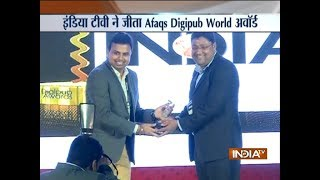 DIGIPUB World 2nd Edition Awards: India TV wins Most Innovative News App Award 2018 - INDIATV