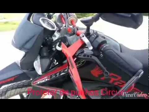 Honda Bros 150, 2014 Super Motard a mais EQUIPADA de todas!!!