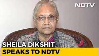 """AAP Only Repeating What We Said"": Sheila Dikshit Rules Out Tie-Up - NDTV"
