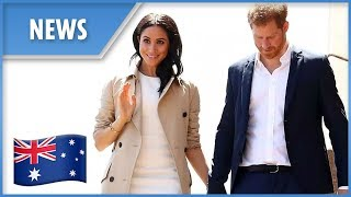 Prince Harry and Meghan Markle are given an Australian welcome to remember - THESUNNEWSPAPER
