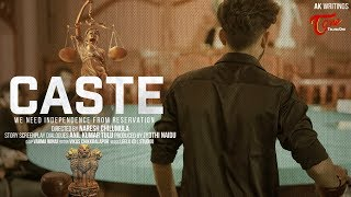 CASTE | Telugu Short Film 2019 | DIRECTED BY NARESH CHILUMULA | WRITTEN BY ANIL KUMAR | TeluguOne - TELUGUONE