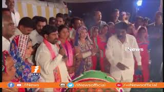 Ex Minister Jagadeshwar Reddy Celebrates Diwali Festival With Tribes | Suryapet | iNews - INEWS