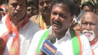 Vasudev Moorthy speaks on protest over Congress' MLA thrashed a guy - NEWSXLIVE