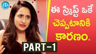 Actress Pragya Jaiswal Exclusive Interview Part #1 || Talking Movies with iDream - IDREAMMOVIES