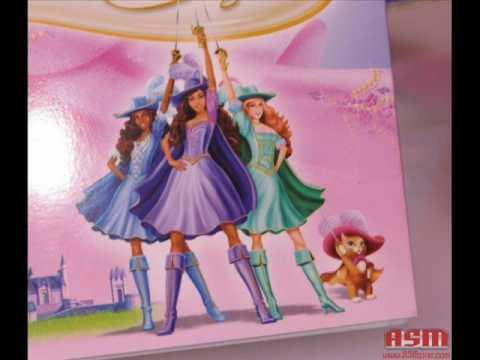 Barbie e as tres mosqueteiras