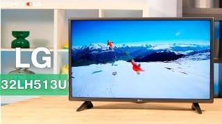 LG 32LH513U - телевизор с хорошим оснащением - Видео демонстрация