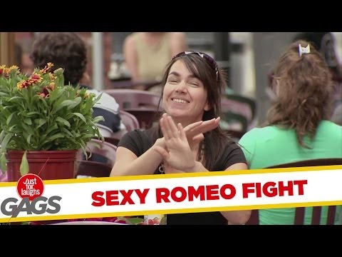 Sexy Romeo Fight Prank