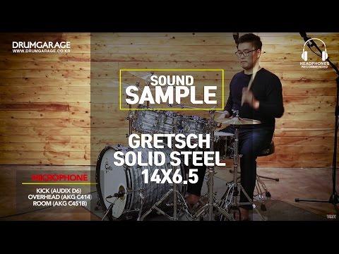 GRETSCH SOLID STEEL 14X6.5