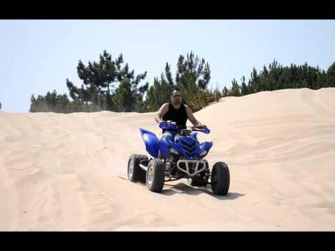 Grupo Caldas TT jipes e mota na areia