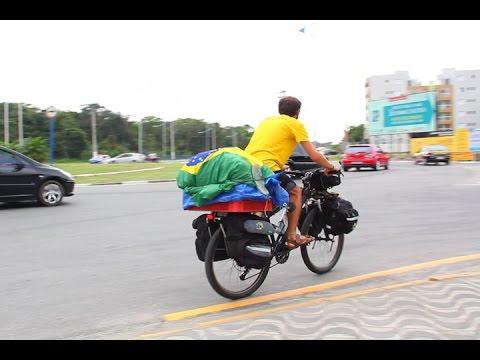 TV Costa Norte - Bike América pedala 46 mil quilômetros até o México