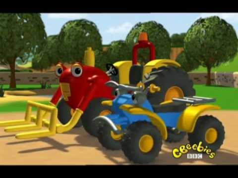 Traktor Tom-Ratownik maluszek