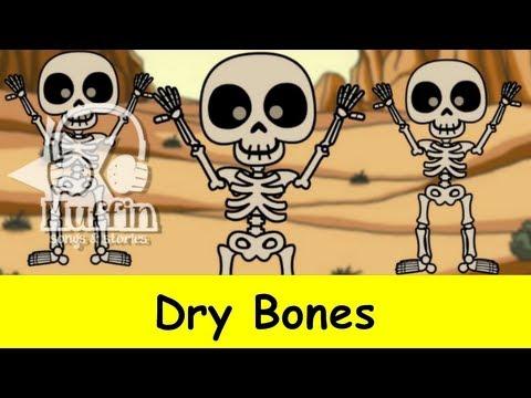 Muffin Songs – Dry Bones (Dem Bones) Tekerlemeler ve İngilizce Çocuk Şarkıları