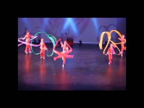 Infinity Ballet's Chinese Ribbon Dance (1 of 2): Beaming with Cheers