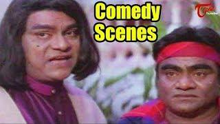 Babu Mohan and Kota Srinivasa Rao Comedy Scenes || NavvulaTV - NAVVULATV