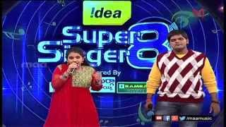 Super Singer 8 Episode 17- Sirisha Anurag Performance - MAAMUSIC