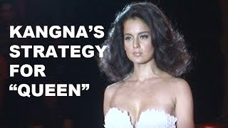 Kangana Ranaut's unique promotional strategy for