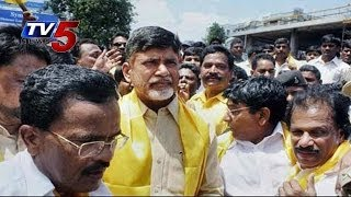 Chandrababu Naidu Repalle Roadshow - TV5NEWSCHANNEL