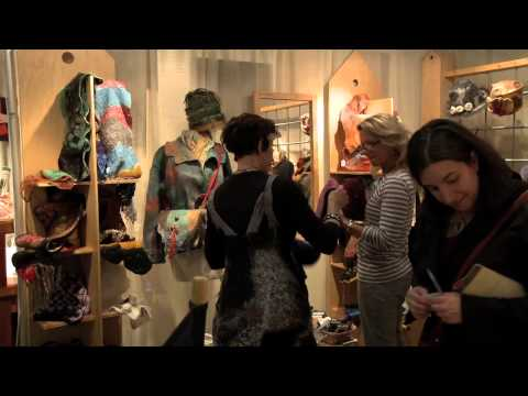 Selling Nuno Felt Fashion at a Craft Show- An Inside Look at what it takes.