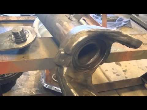 Dana 60 kingpin removal the easy way.....by Itchy