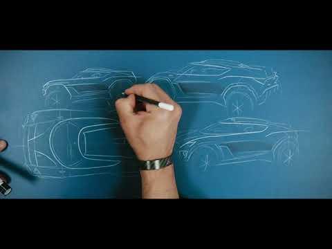 Autoperiskop.cz  – Výjimečný pohled na auta - CUPRA Tavascan Extreme E Concept: Na počátku nejmodernější technologie byla… tužka