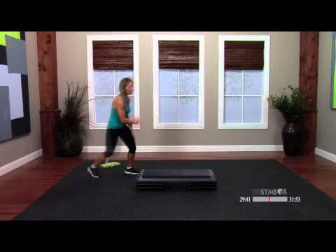 Step aerobics advanced class with Ashli - 60 Minutes