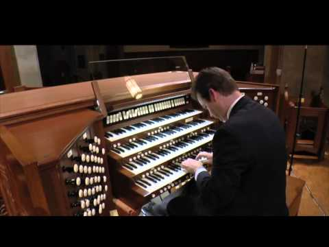 Organist Ken Cowan Plays a transcription of Camille SaintSaëns: Dance Macabre on the new Quimby Pip
