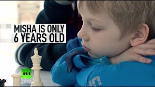 'He plays like an adult': Chess coach sells phone to take 6yo prodigy to world championship - RUSSIATODAY