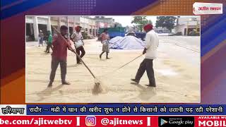 video : रादौर - मंडी में धान की खरीद शुरू न होने से किसानों को उठानी पड़ रही परेशानी