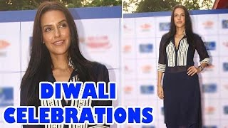 Neha Dhupia playing cards on Diwali - EXCLUSIVE
