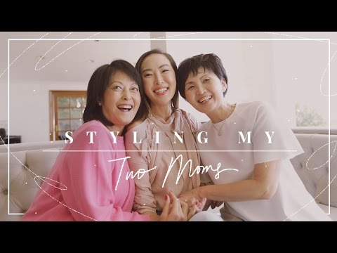 Styling My Two Moms For Mother's Day | Chriselle Lim