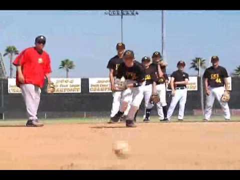 Baseball Fielding:  Infield Tips