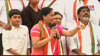 కాంగ్రెస్ ఎన్నికల ప్రచారం లో విజయ శాంతి స్పీచ్ | Vijayashanti Punch Dialogues On CM KCR | CVR News - CVRNEWSOFFICIAL