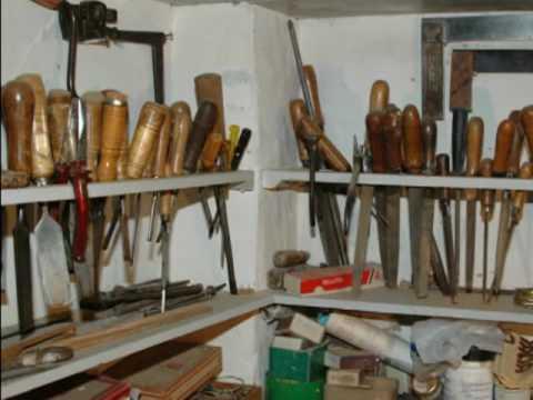 Taller de carpintería de madera de un artesano Turiasonense