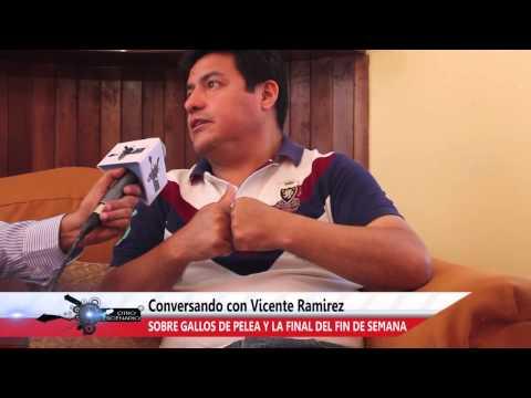OTRO ESCENARIO - ENTREVISTA A DR. VICENTE RAMIREZ. TEMA: GALLOS DE PELEA