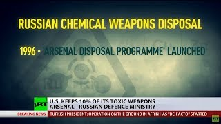 US keeps 10% of its toxic weapons arsenal – Russian MoD - RUSSIATODAY
