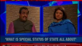 Exclusive: TDP break was emotive, we've strategy in place, says Ram Madhav on NewsX - NEWSXLIVE
